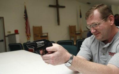 Proposed bill seeks to clarify law regarding handguns in churches